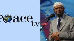 File Photo of Islamic preacher Zakir Naik who runs Peace TV.