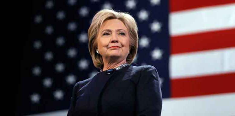 Hillary Clinton, US Presidential Nominee of Democratic Party.