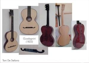 T. De Stefano (Milano, 2005), chitarra copia Guadagnini (Torino, 1823)