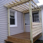 Side view of pergola #2.