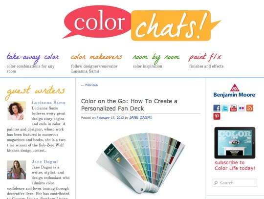 Benjamin Moore/Color Chats!