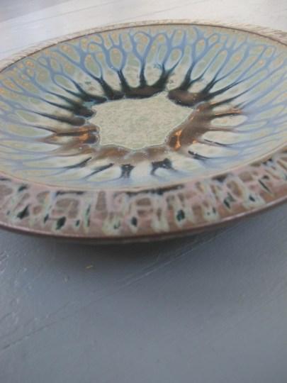 My Richard Aerni birthday bowl.