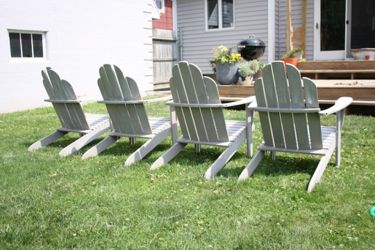 New to us Adirondack chairs.