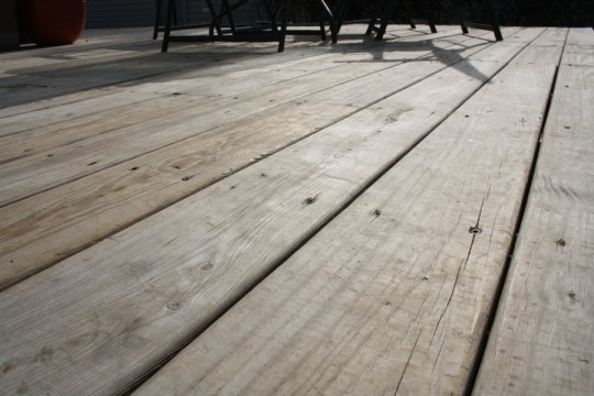 Should I stain the deck? Or will it be too much maintenance?
