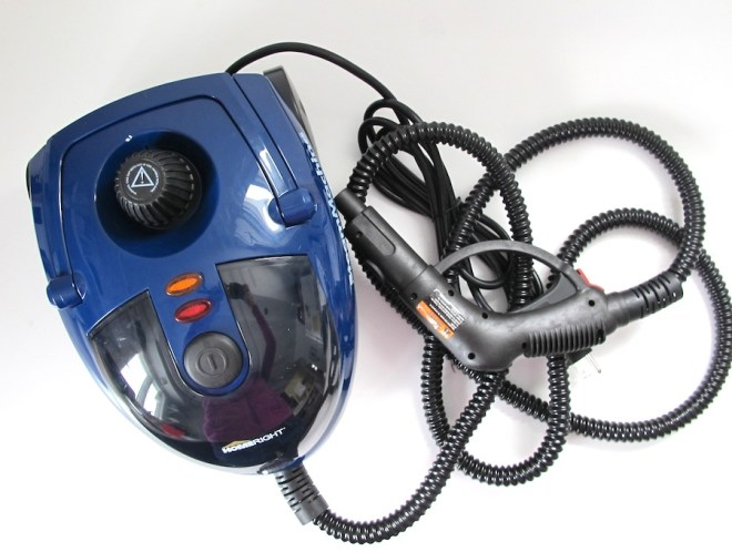 The HomeRight SteamMachine, a product I tested in cleaning my oven.