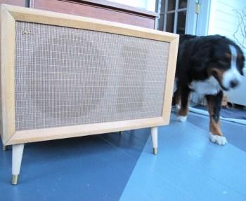 Vintage Norelco Speaker - A freebie find!