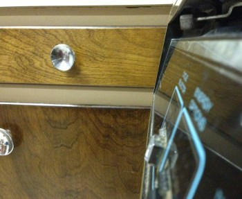 The sellers lived with the dishwasher blocking a drawer for a long time.