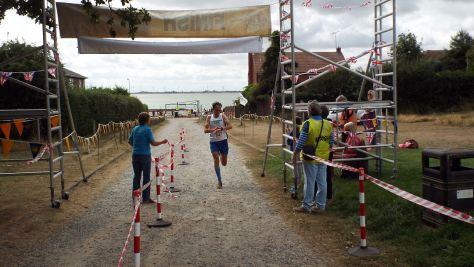 Adam Howlett, winner 5 Mile Race