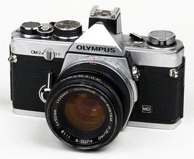 Page de l'Olympus OM-2 N MD