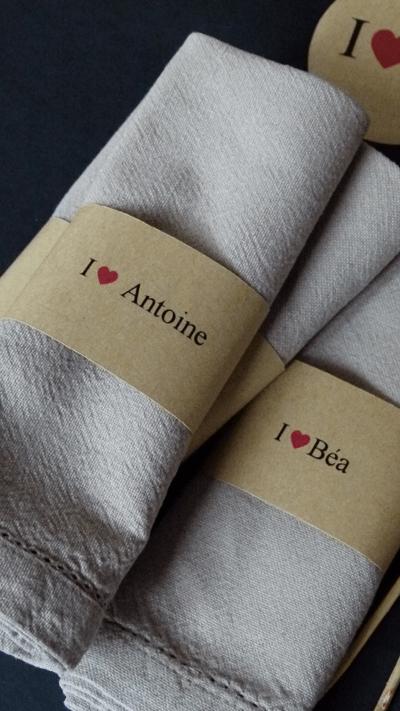 mon rond de serviette