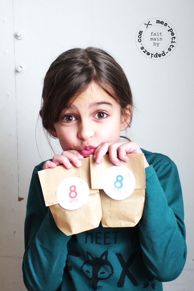 des bonbecs pour les 8 ans de lili