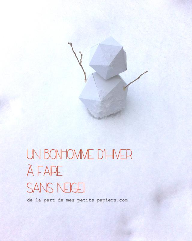 Bonhomme d'hiver