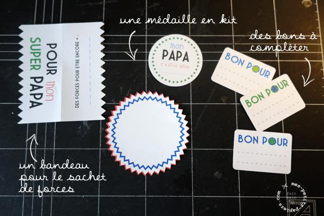DIY - medaille de super papa
