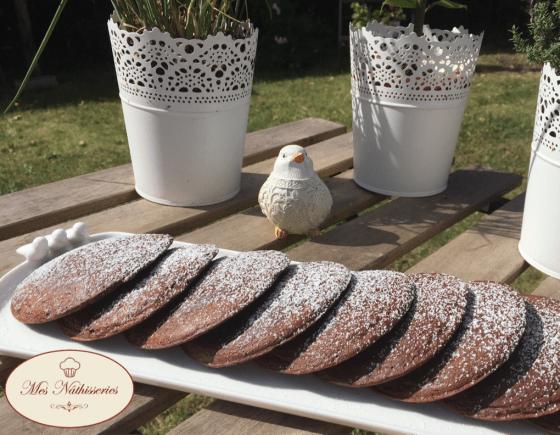 Panecakes au chocolat
