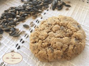 Cookies aux graines de courges et de tournesol