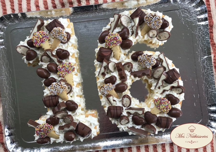 Nimber cake au chocolat blanc