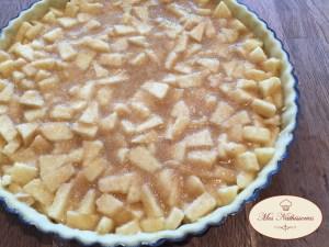 Tartes amandines aux pommes et aux épices