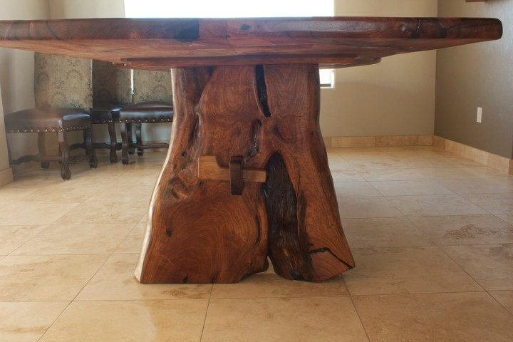 Mesquite Dining Room Tables Natural Edge Mesquite Creations