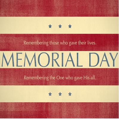 Remembering Memorial Day 2016