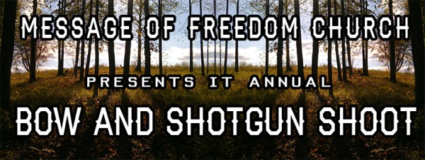 Bow & Shotgun Shoot Banner