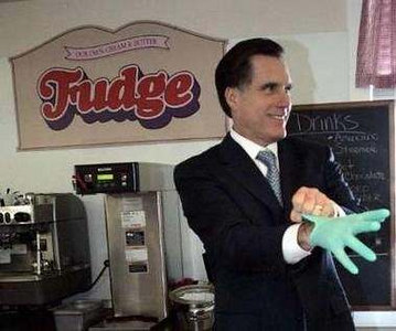 Mitt Romney - Fudge Packer