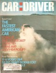 car and driver april 1976