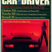 When Car and Driver Didn't Suck - December 1980