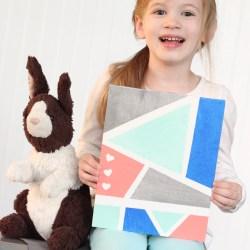 KIDS COLOR BLOCK ART