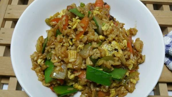 Veggie Fried Rice - Messin with Perfection