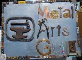 Metal Arts Guild Sign