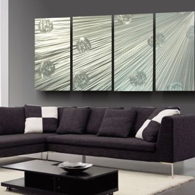 Atomsphere Metal Wall Art Plain