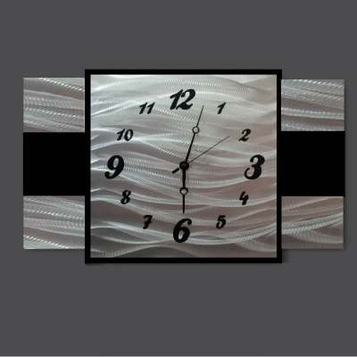 metal clock art design
