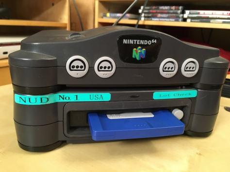 Front of the Nintendo Prototype 64DD