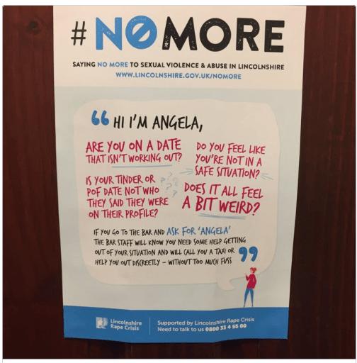 #nomore Ángela contra la violencia sexual