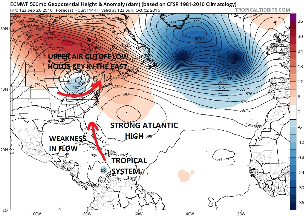 European Model On Developing Tropical System