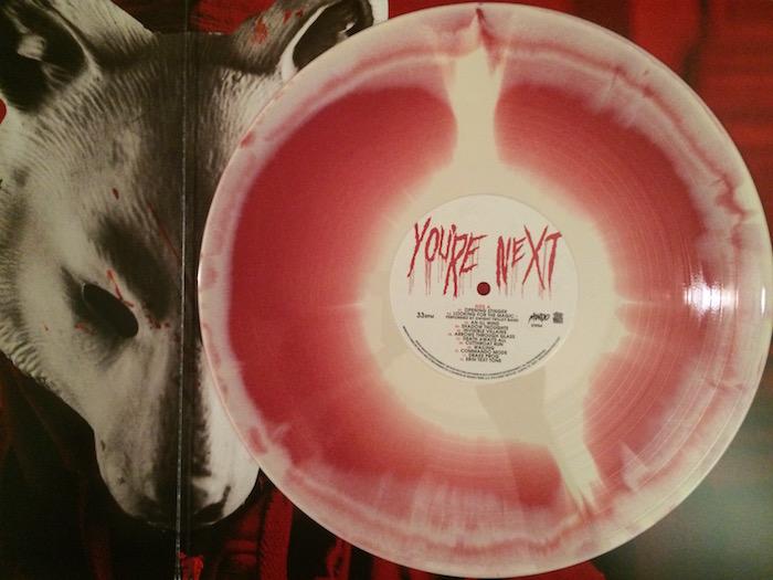 Review You Re Next Soundtrack Lp Mondo Death Waltz