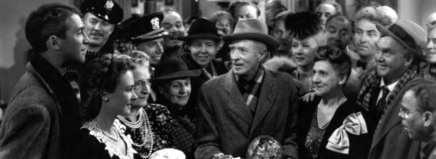 James Stewart in It's A Wonderful Life. London Film events