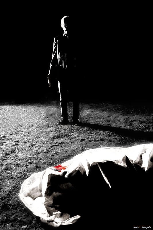 """Concept poster voor een film """"Exit"""" 2009"""