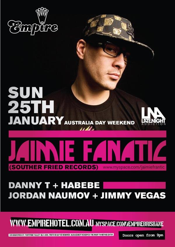 Voor DJ Jaimie Fanatic promo