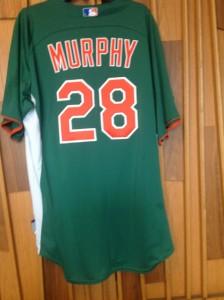 murphy 28 st. patrick's day jersey