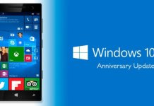 Windows 10 Mobile Anniversary