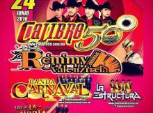 Calibre 50 y Remmy Valenzuela en Mexicali