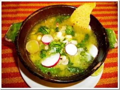 Green Pozole Soup Guerrero Style | Mexican Food Recipes