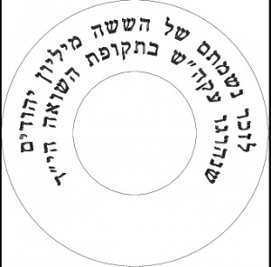 Example of layout for custom engraving on rollers.