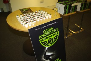 Gemini Force One cupcakes at Waterstone's Piccadilly!