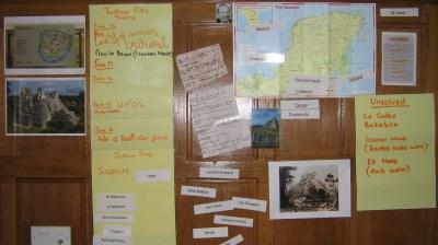 A Joshua Files Incident Board