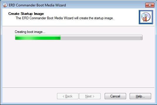 Если erd commanger не видит жесткого дискa Хранилище изображений