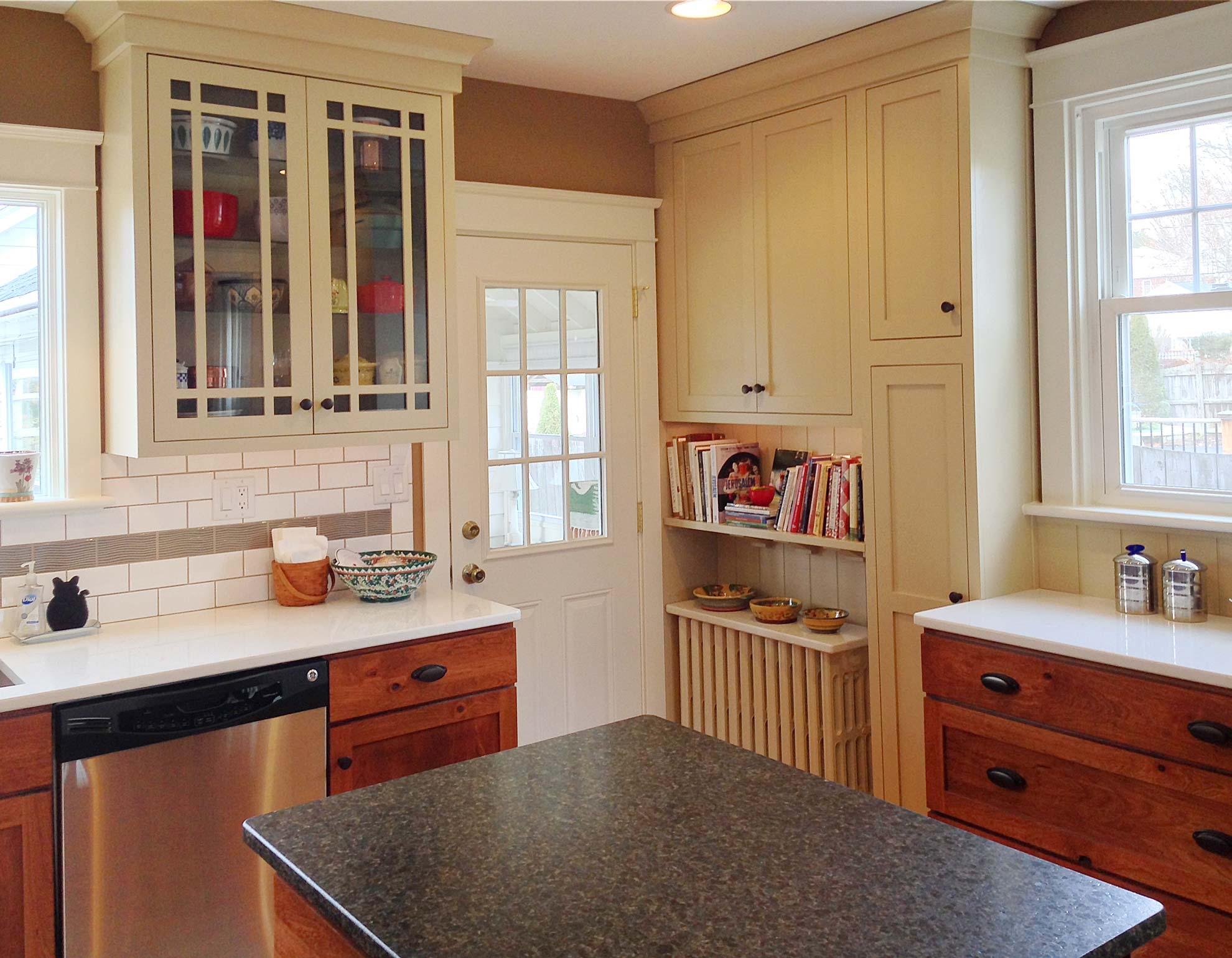 camp hill s colonial colonial kitchen sink Increasing Functional Storage Space