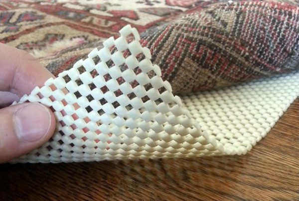 Place a non-slip pad under throw rugs.