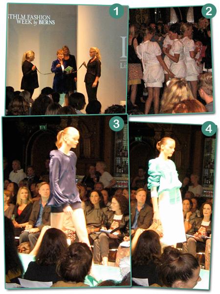 Modevisning: LiseLotte Westerlund vår/sommar 2009